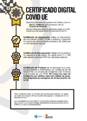 Certificado digital COVID UE