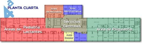 Planta Cuarta | Complejo Asistencial de Ávila